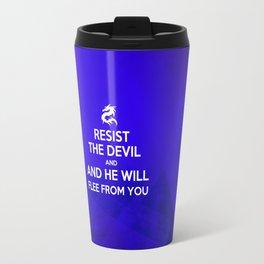 Resist the Devil - Bible Lock Screens Travel Mug