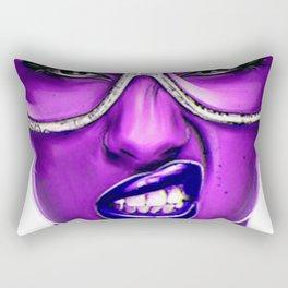 PURPLE--FACE Rectangular Pillow