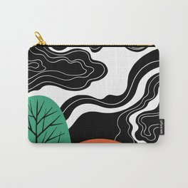 Night tree shadow Carry-All Pouch