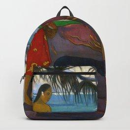 Under the Pandanus by Paul Gauguin Backpack