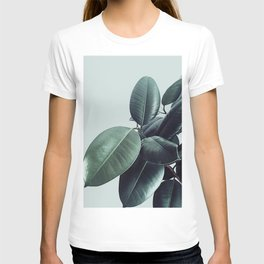 Ficus Elastica #20 #LightGreen #foliage #decor #art #society6 T-shirt