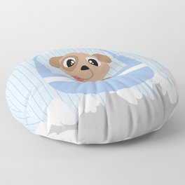 Mobil series cable car dog Floor Pillow