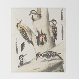 Naturalist Woodpeckers Throw Blanket