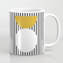 Mid Century Yellow Coffee Mug