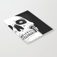 Space Skull Notebook