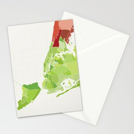 New York City Colored Stationery Cards