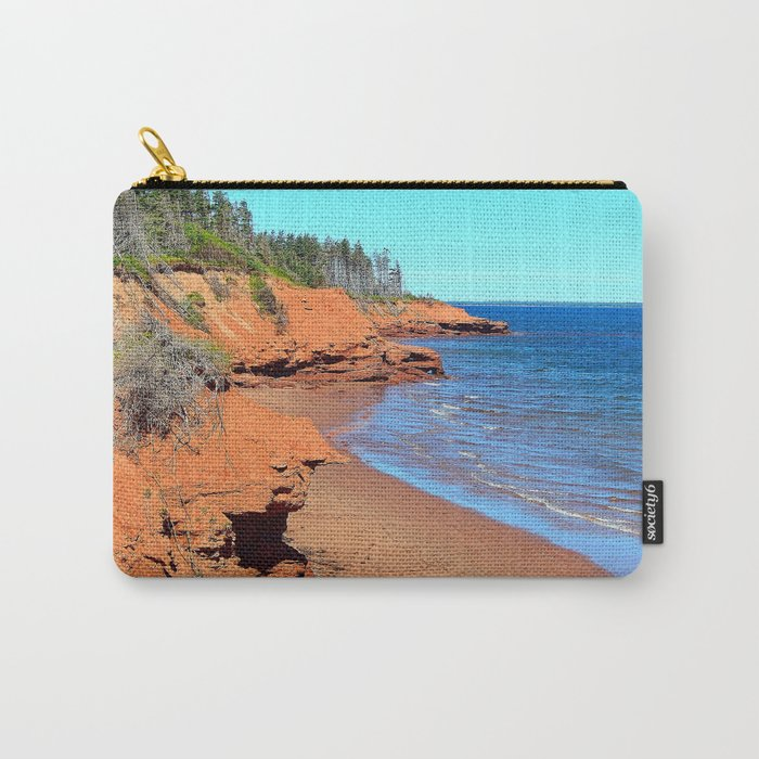 Red Cliffs of PEI Carry-All Pouch