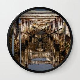 An Old Dock Wall Clock