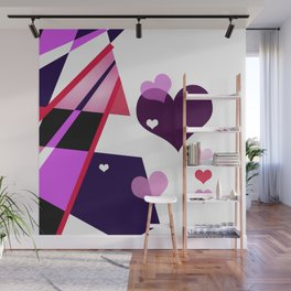 Single Track to Love 2 Wall Mural