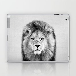 Lion 2 - Black & White Laptop & iPad Skin