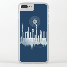 Music Rules My World Clear iPhone Case