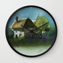 A Place in the Country Wall Clock