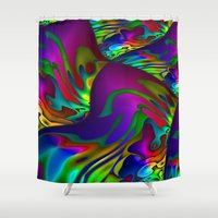 lantern Shower Curtains featuring Lantern by David  Gough