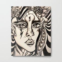 Nyx Metal Print