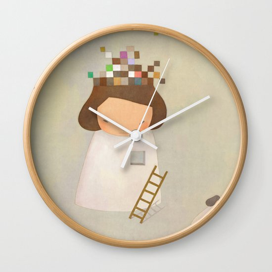 PIECE TO PEACE Wall Clock