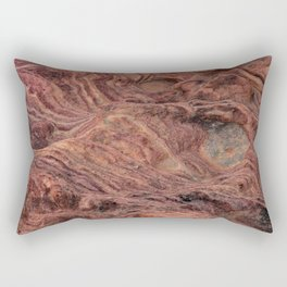 Natural Sandstone Art, Valley of Fire - V Rectangular Pillow