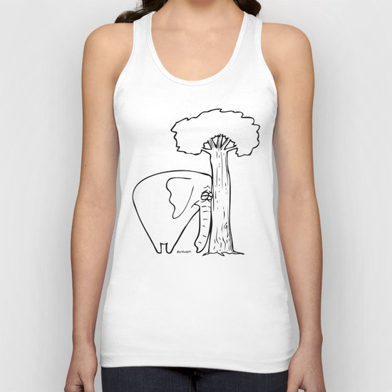 I Miss You Unisex Tank Top