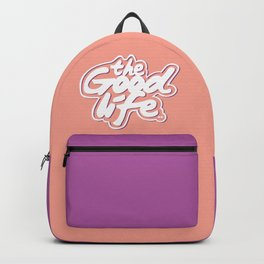 The Good Life #eclectic art Backpack