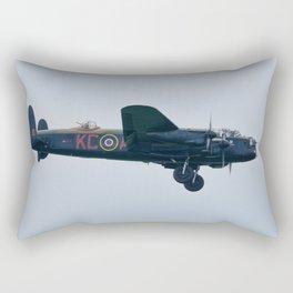 Lancaster on approach Rectangular Pillow