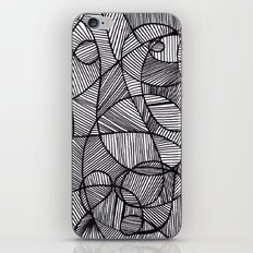 Black & White Abstract iPhone & iPod Skin