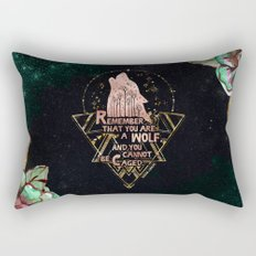 ACOWAR - You Are A Wolf Rectangular Pillow