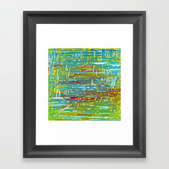 Reedy Pond Framed Art Print