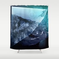 window Shower Curtains featuring Window by DM Davis