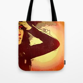 Mourning Sun Tote Bag