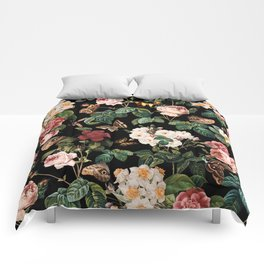 Floral and Butterflies Comforters