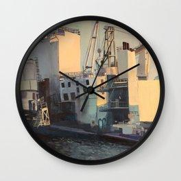 Brooklyn Navy Yard Wall Clock