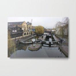 Camden Canal London 1 Metal Print