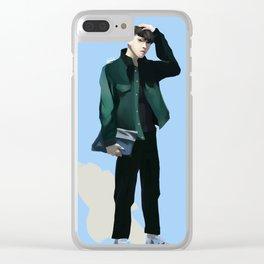 vixx jaehwan airport fashion Clear iPhone Case