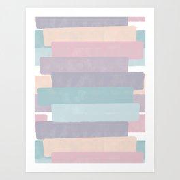 Quietude #society6 #abstractart Art Print
