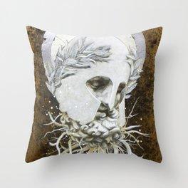 """The Relics of War"" Throw Pillow"