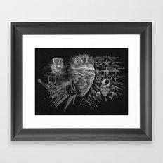 Blackstar by Cap Backard Framed Art Print