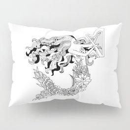 Humanimals: mermaid Pillow Sham