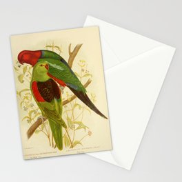 Red Winged Lory King Lory4 Stationery Cards