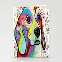 beagle Stationery Cards featuring BEAGLE by EloiseArt