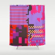 taintedcanvas54 Shower Curtain