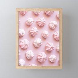 Pink Dessert Framed Mini Art Print