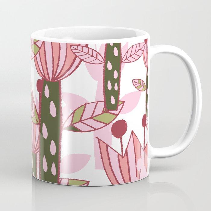 flower pink contemporary kids nursery Coffee Mug