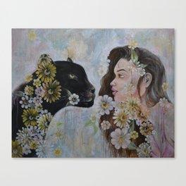 'Her Last Breath' Canvas Print