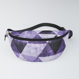 Abstract #975 Ultraviolet Fanny Pack