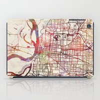 memphis iPad Cases featuring Memphis by MapMapMaps.Watercolors