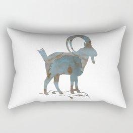 Capra ibex Rectangular Pillow