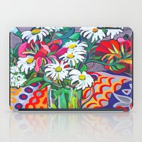 daisies iPad Cases featuring Daisies by marlene holdsworth