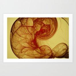 Little Gem Nebula Art Print