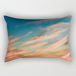 Gold Clouds Rectangular Pillow