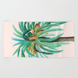 Coconut Island #society6 #decor #buyart Beach Towel