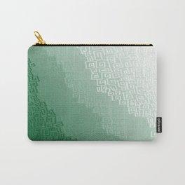 Green Cloudburst Carry-All Pouch